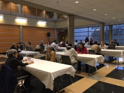 Speed specialty networking event